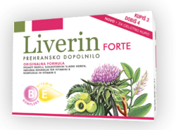 LIVERIN Forte 60 tablet 3+1 gratis, Pharmalife
